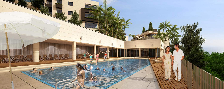 Adma hills tripod international - Jubilee hills international swimming pool ...