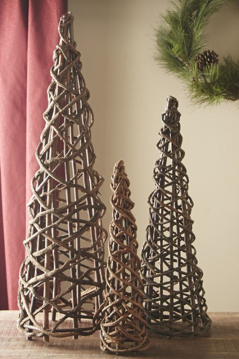 $59 BUY NOW A little trio of topiaries can brighten your tabletop without veering towards kitsch.