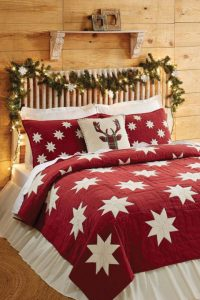 $90 BUY NOW Getting out of bed on winter mornings just got even harder thanks to this cozy quilt. Don't forget the matching shams!